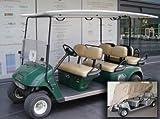 Deluxe 6 Passengers Golf Cart Cover fits E Z GO, Club Car, Yamaha model