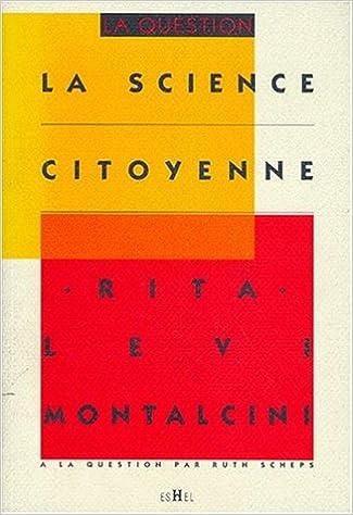 En ligne La science citoyenne epub, pdf
