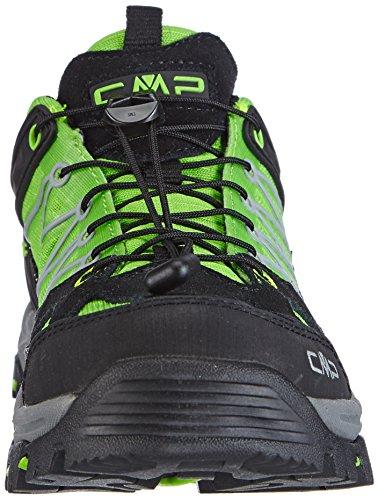CMP RIGEL - zapatillas de trekking y senderismo de material sintético niña verde - Grün (FROG E101)