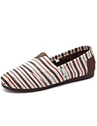Men's Classic Canvas Slip-On Flats Slippers