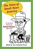 The Voice of Small-Town America, Robert Quillen, 1570037108