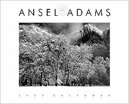 ansel adams 2003 engagement calendar