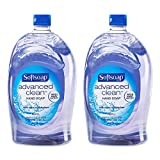 Beauty : Softsoap Handsoap, Refill, Washes Away Bacteria, 80 Fl Oz (Pack of 2)