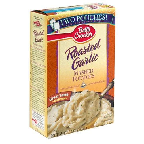 Amazon Betty Crocker Roasted Garlic Mashed Potatoes 72 Ounce