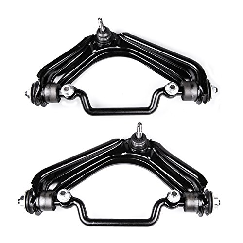AUQDD 2PC K620224+K620225 Professional Front Upper for Suspension Control Arm and Ball Joint Assembly for Ford Explorer Lincoln Aviator Mercury Mountaineer 520-287 520-288