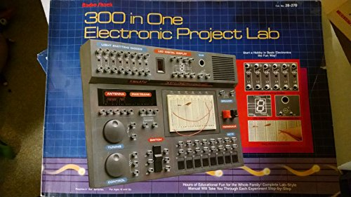 Radio Shack Electronics Lab - 300 in One Electronic Project Lab