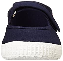 Cienta Mary Jane Sneakers for Girls – Navy Casual Shoes with Adjustable Strap, 28 EU (10.5 M US Toddler)