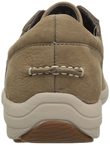 Hush Puppies Mens Balfour Patterson Oxford Taupe