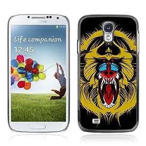 YOYOSHOP [Colorful Monkey Painting] Samsung Galaxy S4 Case