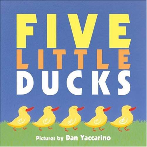 five little ducks went swimming one day