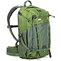 MindShift BackLight 26L Backpack for DSLR Camera, Mirrorless Camera, Lenses, Flashes, 15 Laptop and Tablet, Woodland Green