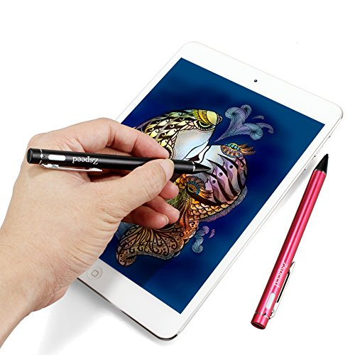 Stylus Pens for Touch Screens, Zspeed iPad Pen Fine Tip Stylus for iPhone, iPad, Laptop (Black) by Zspeed (Image #4)