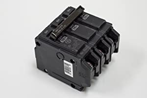 GE THQL32100 Plug-In Mount Type THQL Feeder Molded Case Circuit Breaker 3-Pole 100 Amp 240 Volt AC