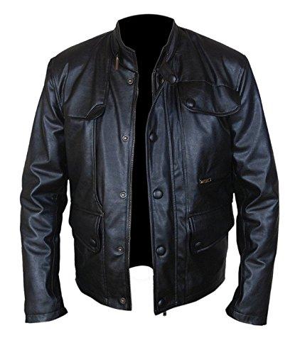 Giacca T5 Leatherly Sintetico Arnold Genisys Pelle Terminator Uomo SqMFRda