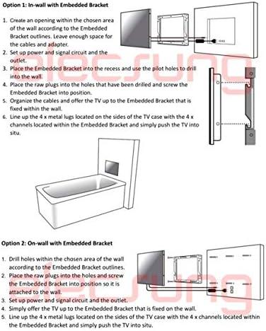 Elecsung 22inch Smart Mirror TV for Bathroom IP66 ...