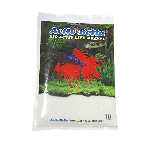Activ Betta Aquarium Sand, 1-Pound, White Sand