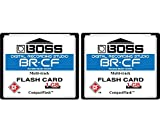 2-Pack 1GB Boss Roland BR-CF CompactFlash CF Memory Card for BR-600, BR-864, BR-900CD, MC-808 (2Pack)
