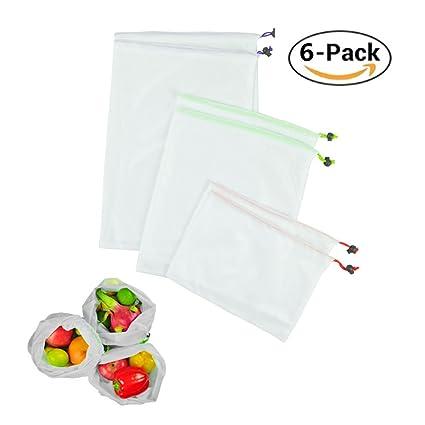 47cc43c476e HomJoy Reusable Produce Bags