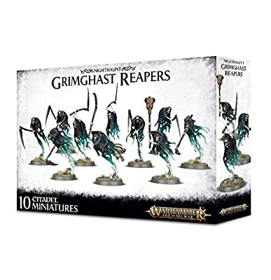 Games Workshop Nighthaunt Grimghast Reapers Warhammer Age of Sigmar from Games Workshop