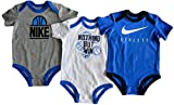 Nike Baby Boys' Bodysuits Set of 3 Basketball Graphics 3/6M