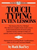 Touch Typing in Ten Lessons, Ruth Ben'Ary and Ruth Ben'ary, 0399515291