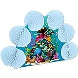 Beistle 57688 Coral Reef Pop-Over Centerpiece, 10-Inch