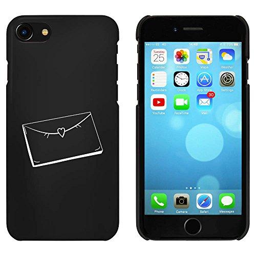 Noir 'Lettre Scellée' étui / housse pour iPhone 7 (MC00077809)