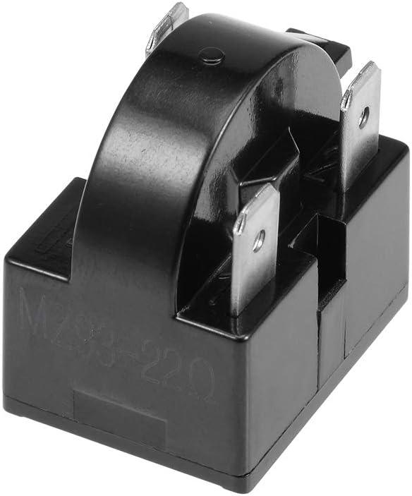 220V 4.7//12//15//22//33 Ohm 3 Pins Refrigerator Compressor PTC Starter Relay NEW