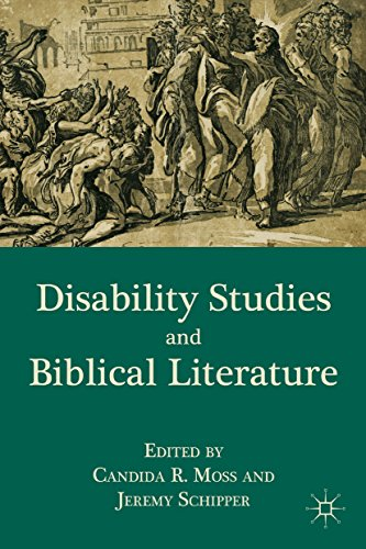 Disability Studies and Biblical Literature Pdf