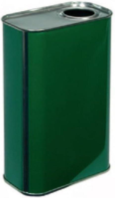BIERRE 8 LATTINE per Olio da 0.75LT A Bottiglia con 8 Tappi 32MM
