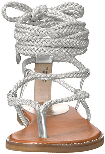 Sandal Silver Girl Juliie Gladiator Women's Madden Paris x6PqCx