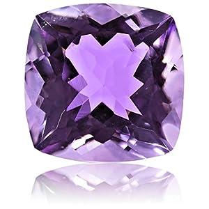 Pink Amethyst 10.00mm Cushion Cut Loose Gemstone