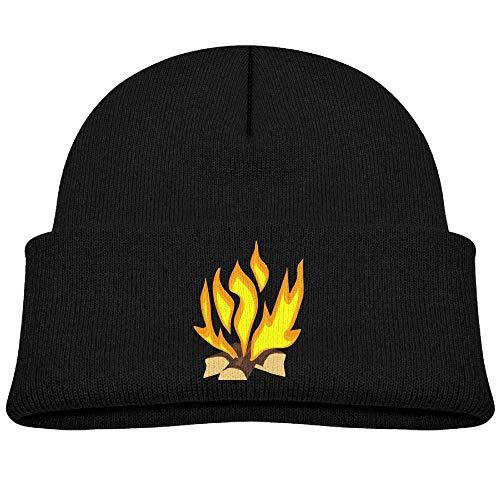 HOOAL Bonfire Baby Boy Winter Warm Hat, Lovely Knit Beanies Cotton Cap Girls Boys -