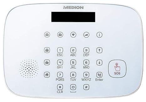 Medion Sim Karte.Medion P85773 Smart Home Sicherheitsset Alarmanlage Bis Zu 85db 3
