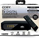 Coby Cstb-600 TV Digital Converter With Remote