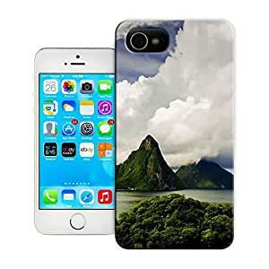 Unique Phone Case Landscape Jade Mountain - Saint - Lucie, Venezuela Hard Cover for iPhone 4/4s cases-buythecase