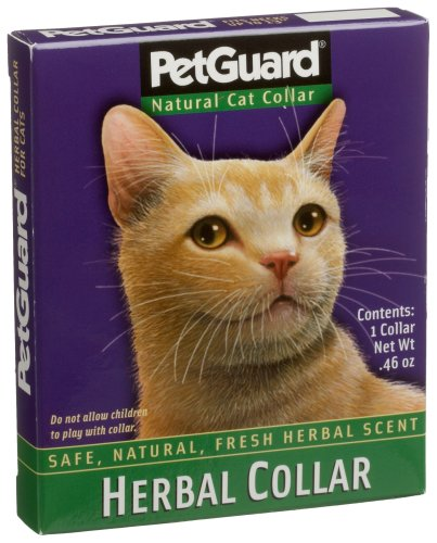Pet Guard Herbal Cat Collar (Pack of 4)