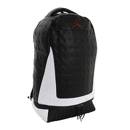 big sale 824ec 74cfb Nike Jordan Retro 13 Backpack - Black/White 9A1898-210