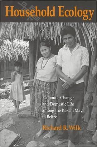 Economic Change and Domestic Life among the Kekchi Maya in Belize Household Ecology