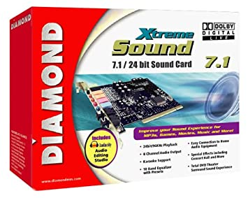 DIAMOND XTREME SOUND XS71DDL WINDOWS 7 64BIT DRIVER DOWNLOAD