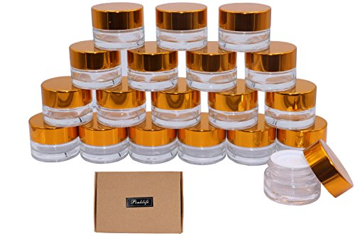 glass 5 gram containers - 8