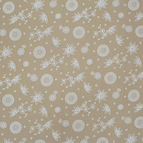 iNee Light Coffee Fat Quarters Fabric Bundles, Quilting Sewing Fabric, 18 x 22 inches,(Light Coffee) by iNee (Image #6)