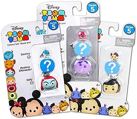 Tsum Tsum Mystery Disney Pack Series 5 - Paquete de 3 Bolsas ciegas con Figuras apilables Tsum Tsum Tsum (Recuerdos de Fiesta de Disney): Amazon.es: Juguetes y juegos