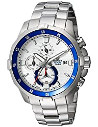 Casio Men's EFM-502D-7AVCF EDIFICE Analog Display Quartz Silver Watch