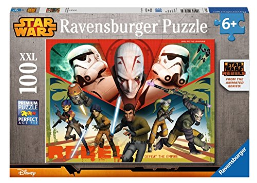 Ravensburger 10563 - Star Wars - Helden des Imperiums, 100-Teilig Puzzle