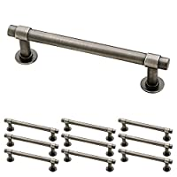 "Franklin Brass P29617K-904-B Straight Bar Pull, 4"" (102mm), Gunmetal, 10 Piece"
