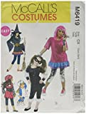 McCall's Patterns M6419 Children's/Girls' Costumes, Size CX
