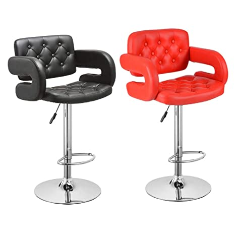 Pleasing Amazon Com Aajolg Barstools Bar Stools With Back Adjustable Gmtry Best Dining Table And Chair Ideas Images Gmtryco