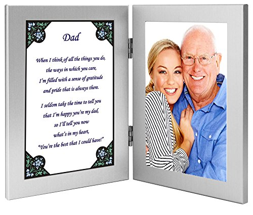 Dad Gift - Sweet Poem for Father for His Birthday or Christmas - Add - For Christmas Dad Gift