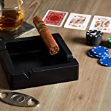 Silicone Cigar Ashtray and Cigar Cutter - Premiere